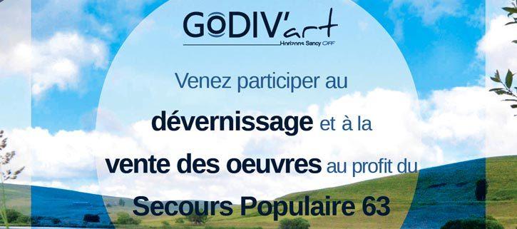 Dévernissage et ventes des œuvres de Godiv'Art