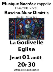 La Godivelle - Jeudi 1er août 2019